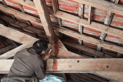how to fix a leaking roof and prevent roof damage and repairs