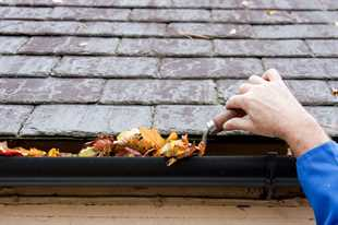Cleaning Gutters Using Eavestroughs Cleaning Tools