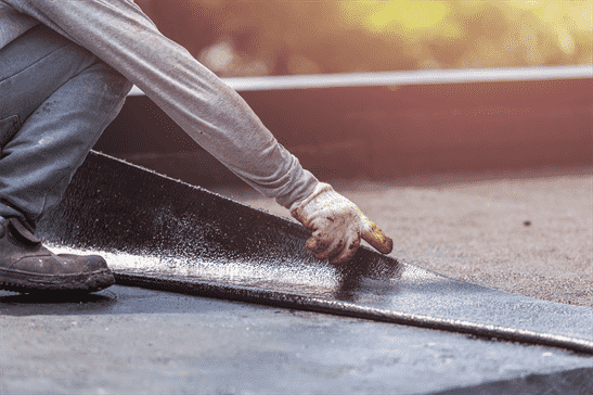 how to make your own repairs for your flat roofs