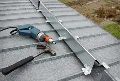 residential house and commercial building roof material