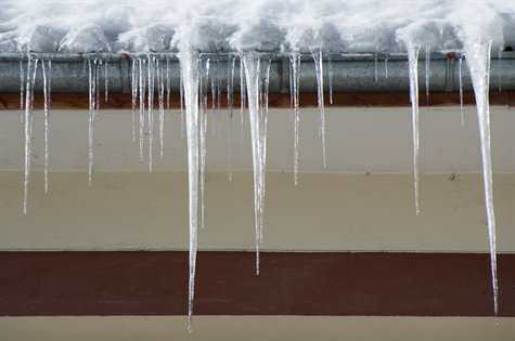how to fix ice damming