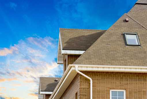 A simple roof completes the safety and convenience of your abode